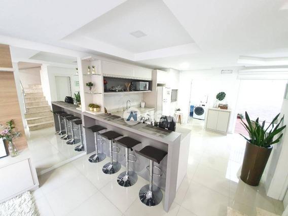 Casa Com 3 Dormitórios À Venda, 124 M² Por R$ 460.000,00 - Rondônia - Novo Hamburgo/rs - Ca3332