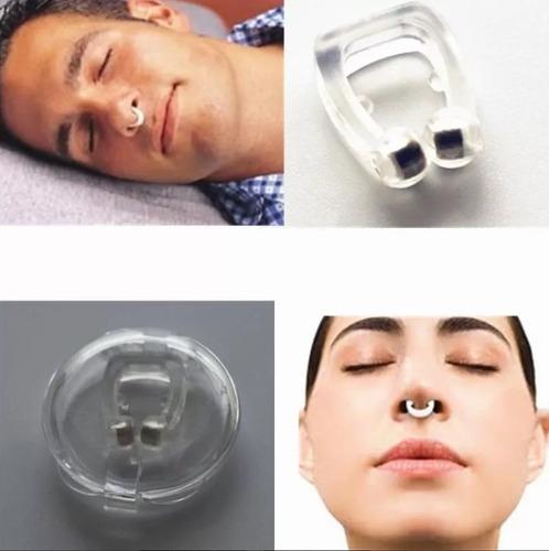 Imagem 1 de 10 de Anti Ronco Apneia Bruxismo Clipe Nasal
