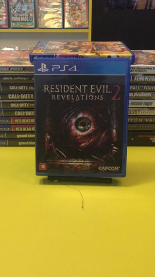 Resident Evil Revelations 2 Ps4 Mídia Física Pronta Entrega