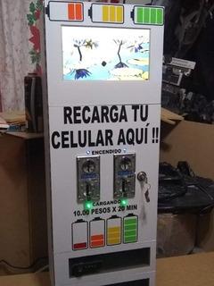 Maquina Vending Para Cargar Telefonos