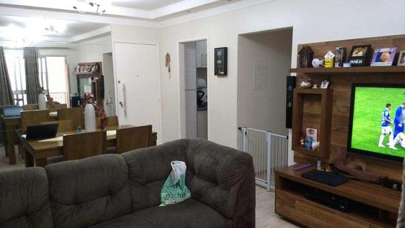 Apartamento Com 2 Dorms, Jardim Henriqueta, Taboão Da Serra - R$ 290.000,00, 58m² - Codigo: 2550 - V2550