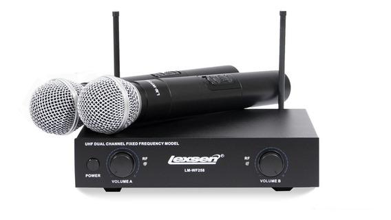 Microfone Sem Fio Bi-volt - Lm-wf258 - Lexsen