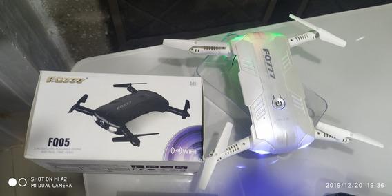 Drone Fq05 Fq777 Altitude Suporte Com Controle Manual Também