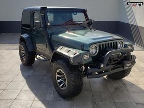 Jeep Wrangler Verde 2003