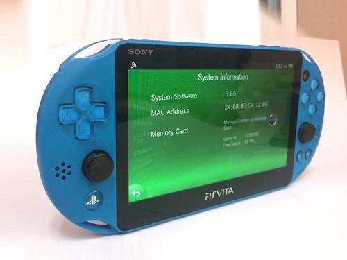 Ps Vita Sony Neon Blue Wifi En Excelente Estado Psvita