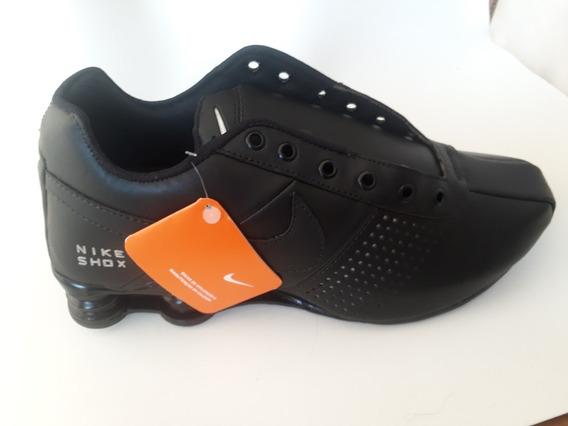 Nike Shox Nz Classic Premium Preto/preto 41 Importado
