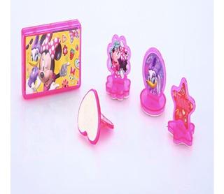Carimbo Menina Infantil Disney Minnie C/ Almofada Criança