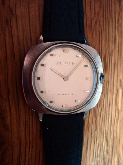 Reloj Citizen Vintage. Colección 70´s.