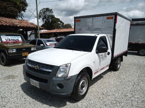 Chevrolet Luv Dmax 2012 Blanca 2.5 Furgon Carga Seca