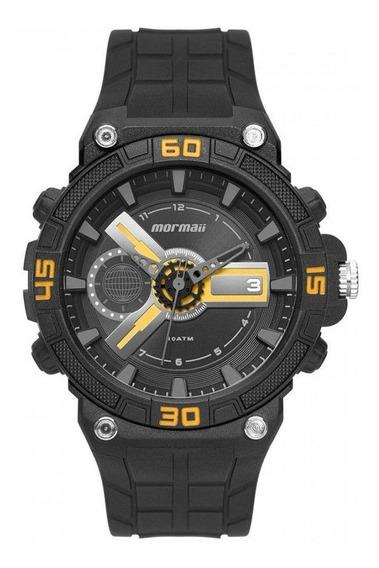 Relógio Mormaii Wave Preto/amarelo Moy120ab/8y