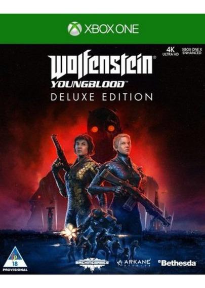 Wolfenstein Youngblood Deluxe Edtion + Brinde!xbox One