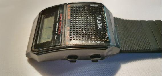 Relógio Talking, P Deficientes Visuais, Fala A Hora Espanhol