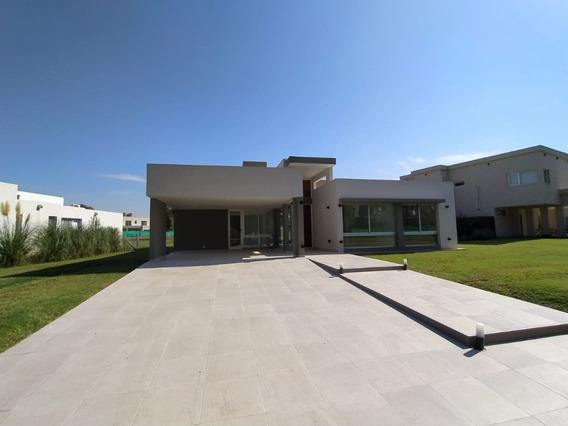 Casa A Estrenar (country Terralagos, Canning, Ezeiza)