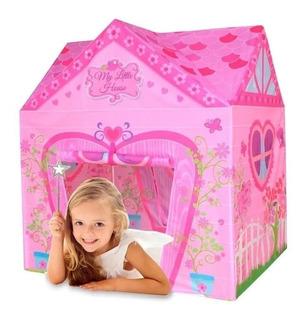 Carpa Mi Pequeña Casita Juegos Niñas Nenas Exterior Interior
