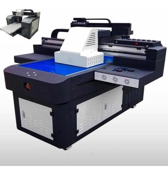 Impresora Uv Cama Plana Alto Relieve De 90×60 Cymkwvlcly