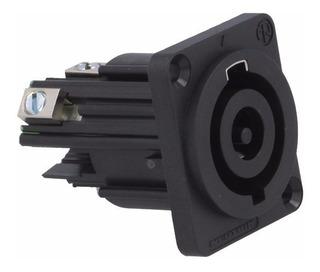 Neutrik Nac3mp-hc Ficha Conector Powercon A Chasis Traba
