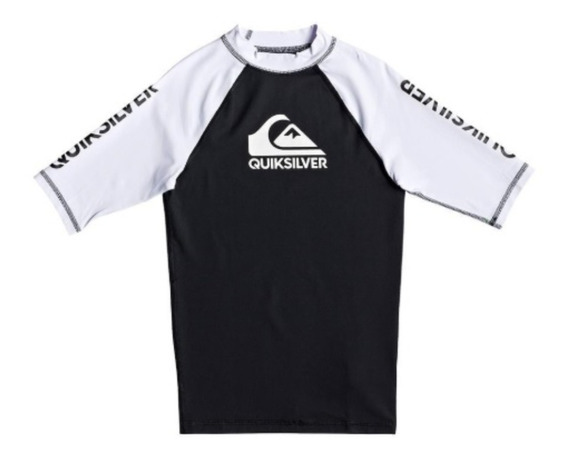 Remera Surf Niños Quiksilver Lycra On Tour