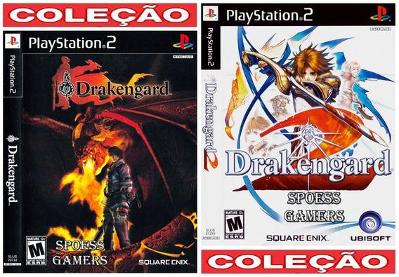 Drakengard 1 E 2 ( Rpg ) Ps2 Coleção (2 Dvds) Patch