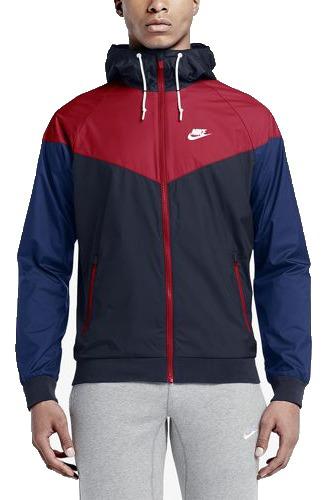 Jaqueta Corta Vento Nike Vermelha Windrunner Pronta Entrega