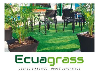 Césped Sintético Artificial Ecuagrass