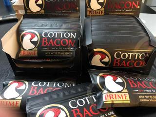 Cotton Bacon Prime, Algodón Orgánico Para Vapear