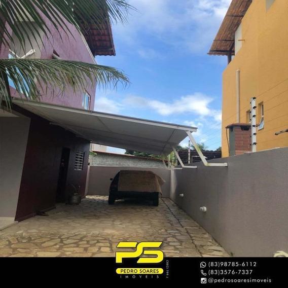 Casa Com 3 Dormitórios À Venda, 123 M² Por R$ 475.000 - Portal Do Sol - João Pessoa/pb - Ca0621