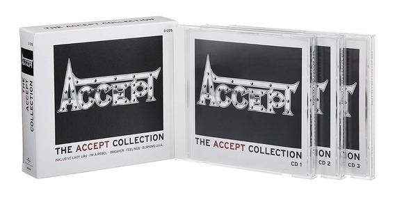 Accept - The Accept Collection - 3cd - Box Set