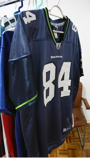check out 103a9 e7e48 Nfl Seattle Seahawks Jersey no Mercado Livre Brasil