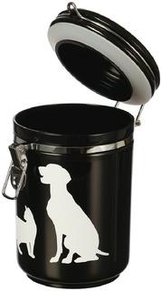 Contenedor Alimento Para Mascotas Cocooning Negro 1kg