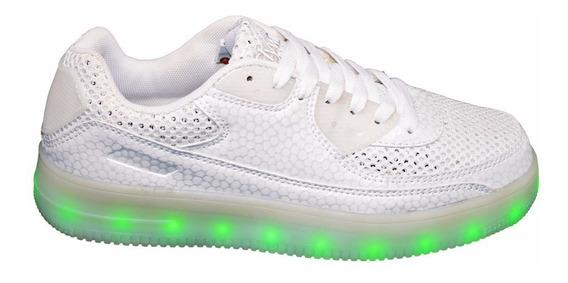Zapatillas Con Luz Led Y Cargador Usb 2696 2906