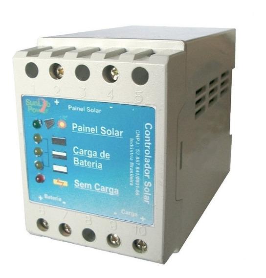 Controlador De Carga Solar 5a - Sunlab Power