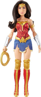 Barbie Mulher Maravilha Ww84 Wonder Woman Pronta Para Lutar