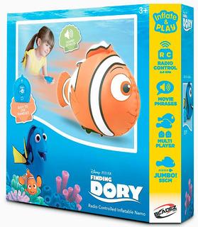 Buscando A Nemo Disney Inflable Control Remoto 60cm Bigshop