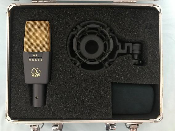 Microfone Condensador Akg C414 Xlii (em Estado De Novo)