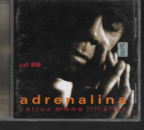 La Mona Jimenez Album Adrenalina Cd 66 Sello Warner Music Cd
