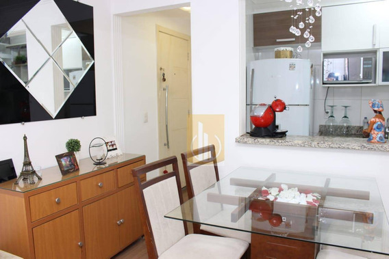 Apartamento Mobiliado Com 2 Dormitórios Para Alugar, 50 M² Por R$ 1.100/mês - Jardim São Miguel - Ferraz De Vasconcelos/sp - Ap0171