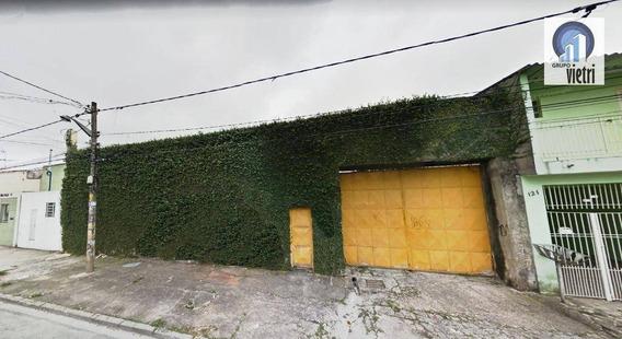 Terreno Para Alugar, 1400 M² Por R$ 8.000/mês - Parque Paulistano - São Paulo/sp - Te0628