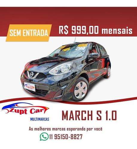 Nissan March 1.0 -- Zero Entrada -- Oportunidade -- Uber 99