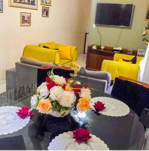 Imagem 1 de 30 de Casa Com 2 Dormitórios À Venda, 244 M² Por R$ 1.380.000,00 - Boqueirão - Praia Grande/sp - Ca14297
