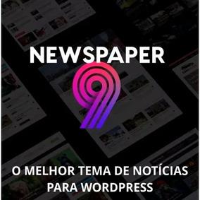 Tema Wordpress Portal De Notícias Newspaper V9.1 - Promoção!
