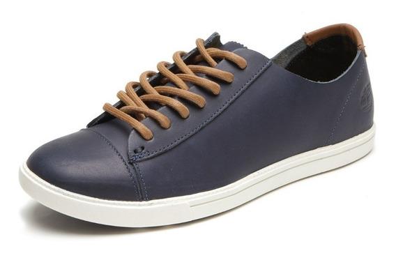 Tênis Timberland Ek Hudston Leather Marinho Original