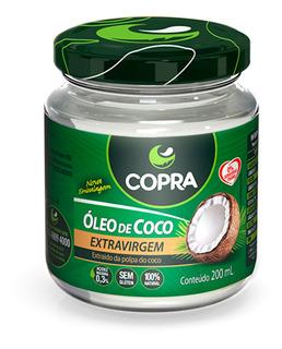 Óleo De Coco Extravirgem 200ml - Copra + Brinde