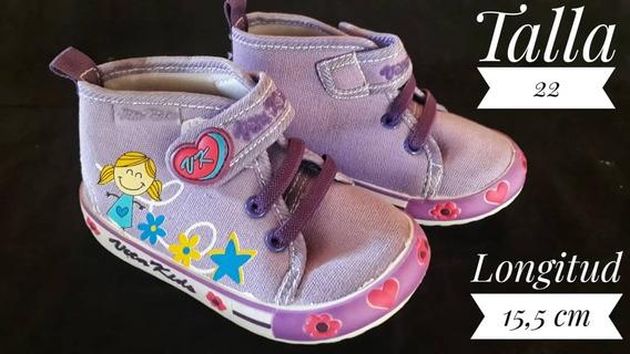 Zapatos Botines Vita Kids Para Niñas/ 4v