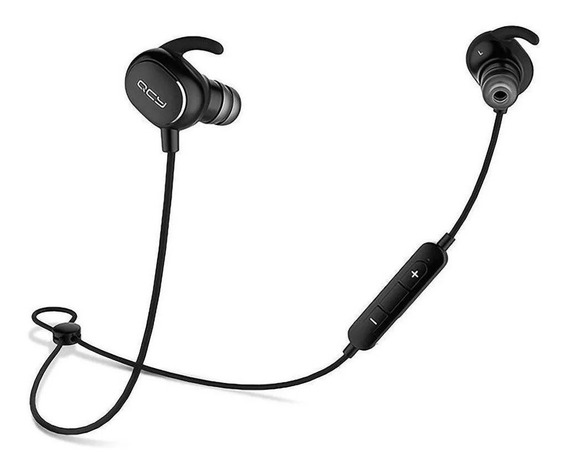 Fone De Ouvido Bluetooth Microfone Qcy Qy19 Sports Earbuds