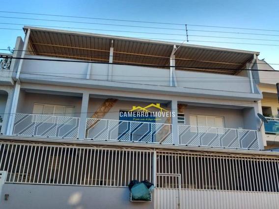 Casa Com 3 Dormitórios Para Alugar, Por R$ 1.300/mês - Cidade Nova Ii - Santa Bárbara D