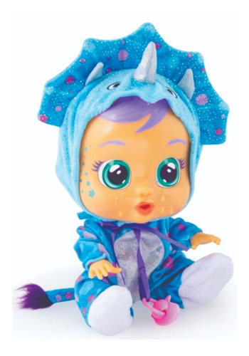 Cry Babies Tina Doll - Bebe Lloron Dinosaurio