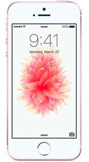 Celular Smartphone iPhone SE 16gb Ouro Rosa Usado Seminovo