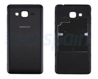 Tampa Traseira Preta Samsung J2 Prime Original