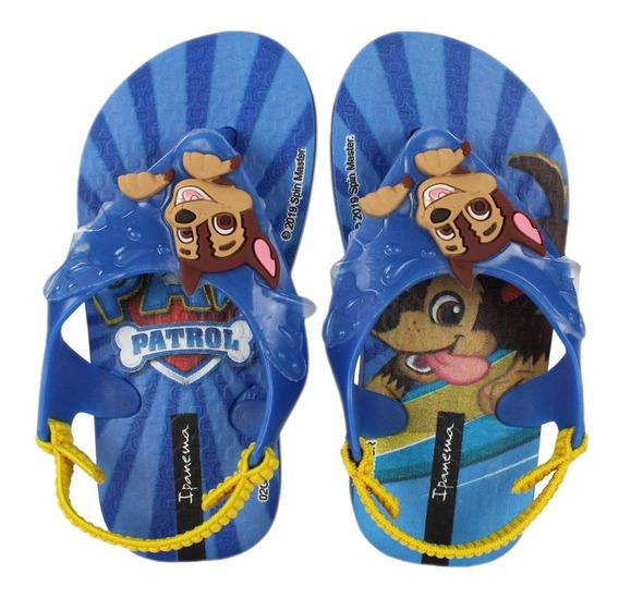 Sandália Infantil Grendene Patrulha Canina Baby 26124 Radan Esportes