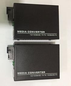 F. Media Converter 10/100m-sf-20km-1310/1550nm